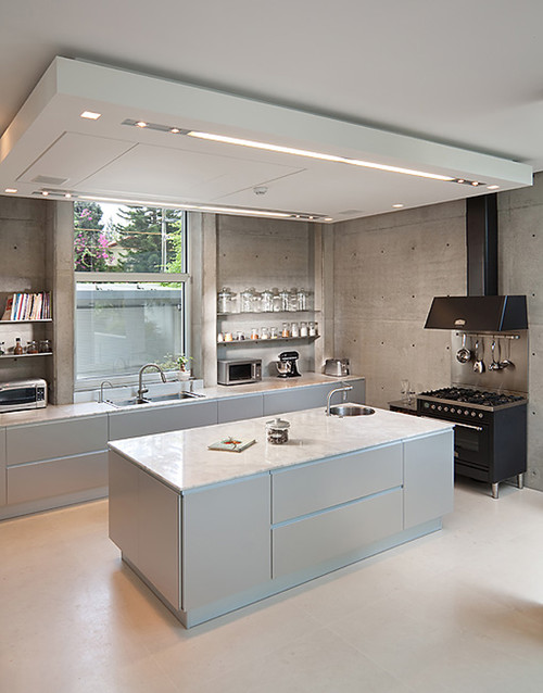 Options for Modern Design Kitchen Cabinets - Renovation Malaysia