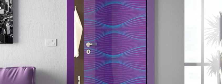 bathroom-door-design-inspiration-with-nice-purple-color