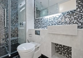 Remodelling your toilet into a glamour room